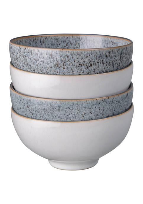 Studio Grey Set of 4 Mix Rice Bowls