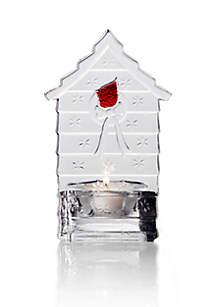 Cardinal Birdhouse Tealight