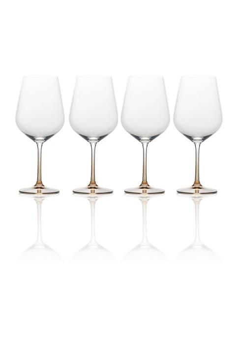 Gourmet Basics by Mikasa Gianna Red Wine Glasses,