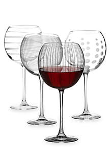 Cheers Set of 4 Goblets