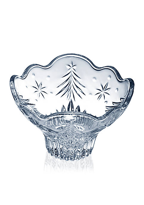 Mikasa Christmas Night 6-in. Footed Bowl