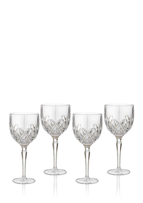 Marquis by Waterford Brookside All Purpose Goblets Set