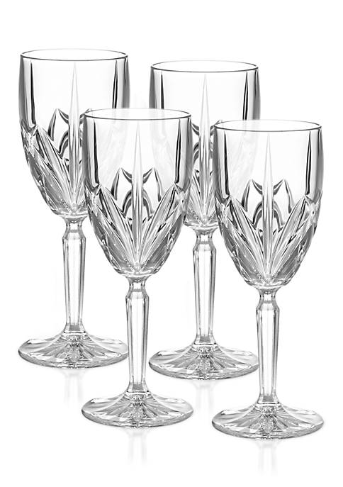 Marquis by Waterford Brookside White Wine, Set of