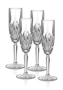 Brookside Champagne Flute, Set of 4