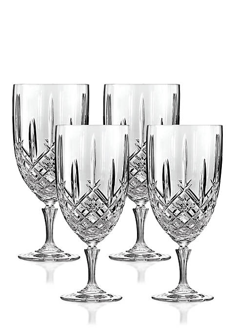 Marquis by Waterford Markham Set of 4 Iced