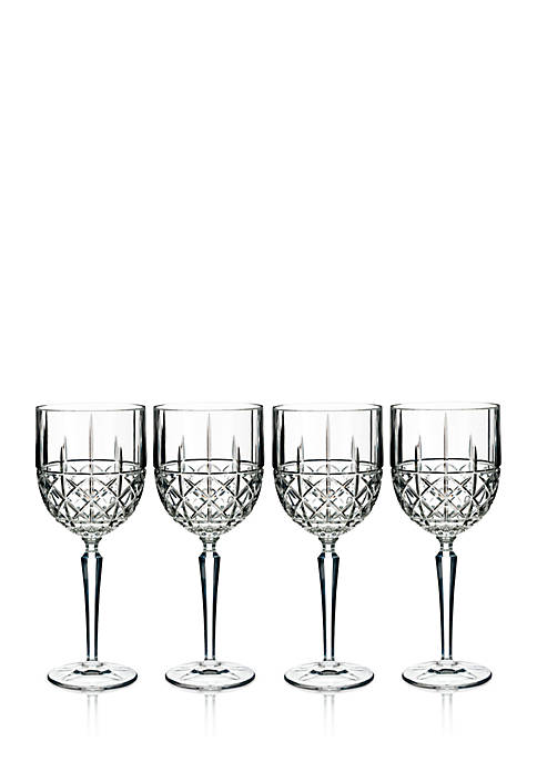 Marquis by Waterford Brady Goblets, Set of 4