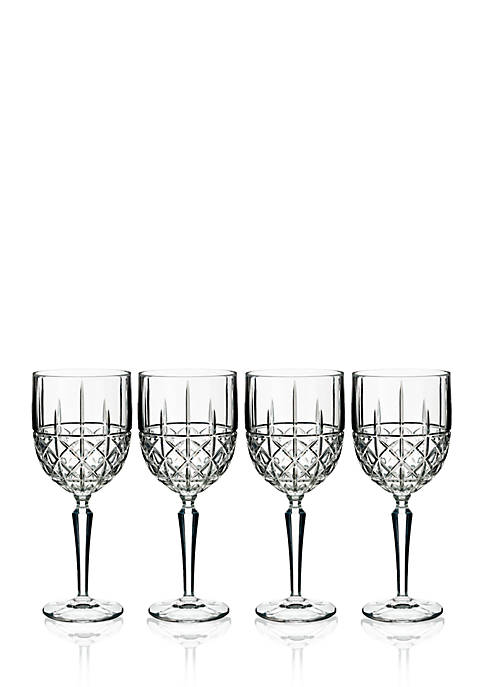 Marquis by Waterford Brady Wine Glasses, Set of