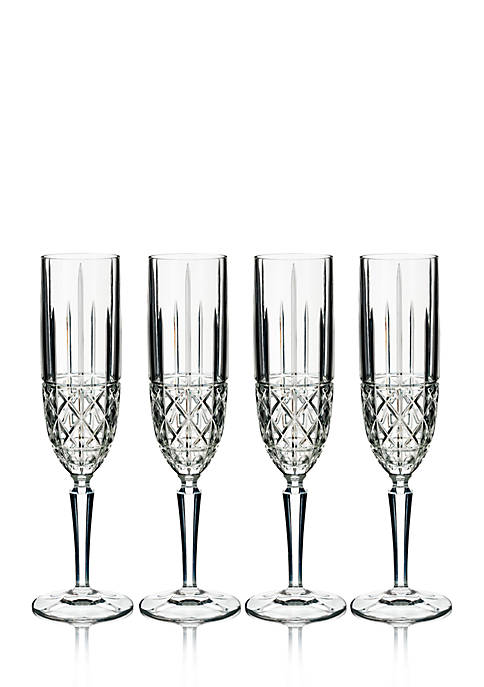 Marquis by Waterford Brady Flutes, Set of 4