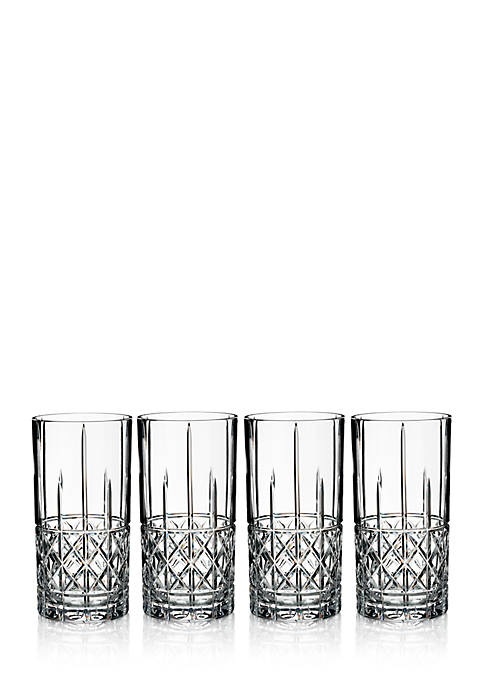 Marquis by Waterford Brady HiBall Glasses, Set of