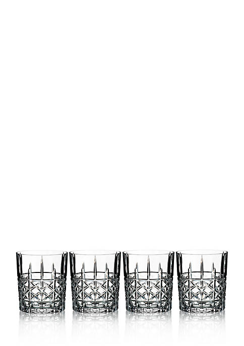 Marquis by Waterford Brady Double Old Fashioned Glasses,