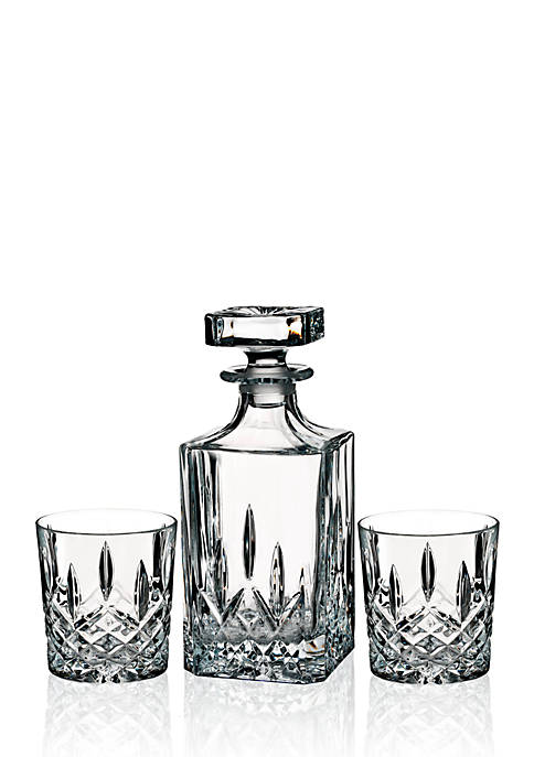 Marquis by Waterford Markham Square Decanter & Double