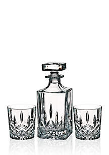 Markham Square Decanter & Double Old Fashion, Set of 2