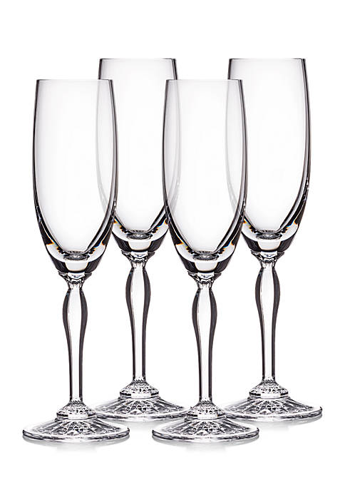 Marquis by Waterford Ventura Flute, Set of 4