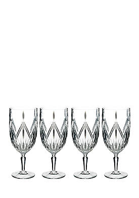 Lacey Iced Beverage, Set of 4