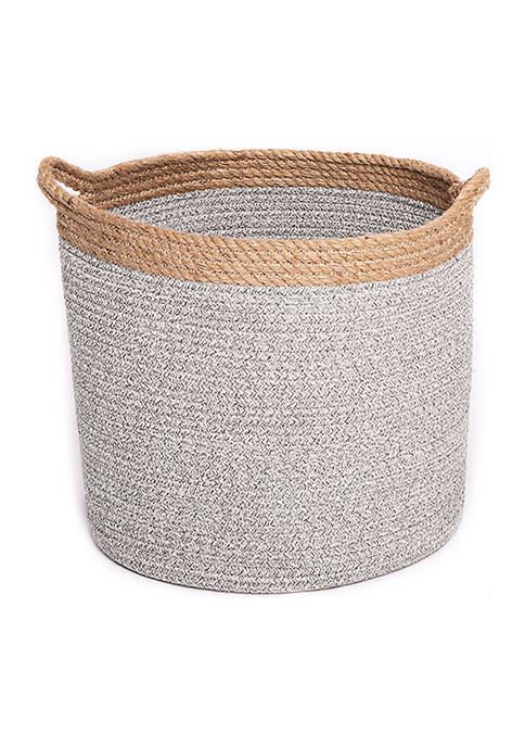 Baum Brothers Cotton Rope Basket