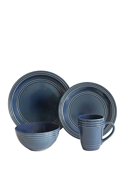 Baum Brothers Allure 16-Piece Dinnerware Set