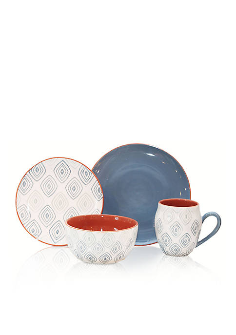 Baum Brothers Echo 16-Piece Dinnerware Set