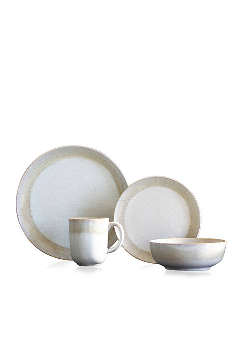 Marina Sand 16-Piece Dinnerware Set