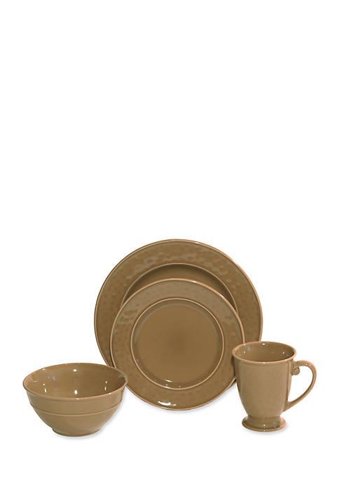 Baum Brothers Wellington 16-Piece Dinnerware Set