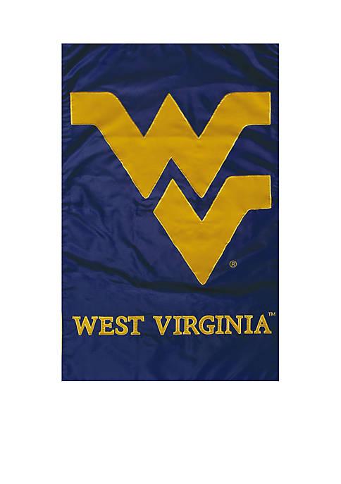 West Virginia Applique Garden Flag