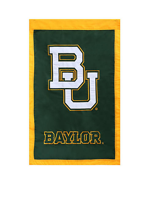 Baylor Embellished House Flag