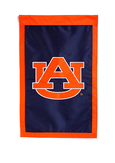 Evergreen Auburn Tigers Embellished House Flag
