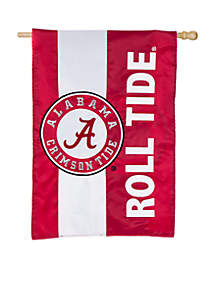 Alabama Embellished House Flag