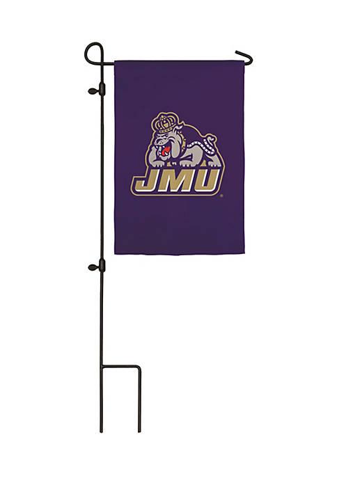 JMU Applique Garden Flag