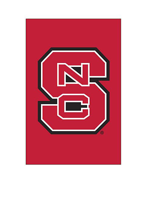 Evergreen NC State Wolfpack Applique Garden Flag