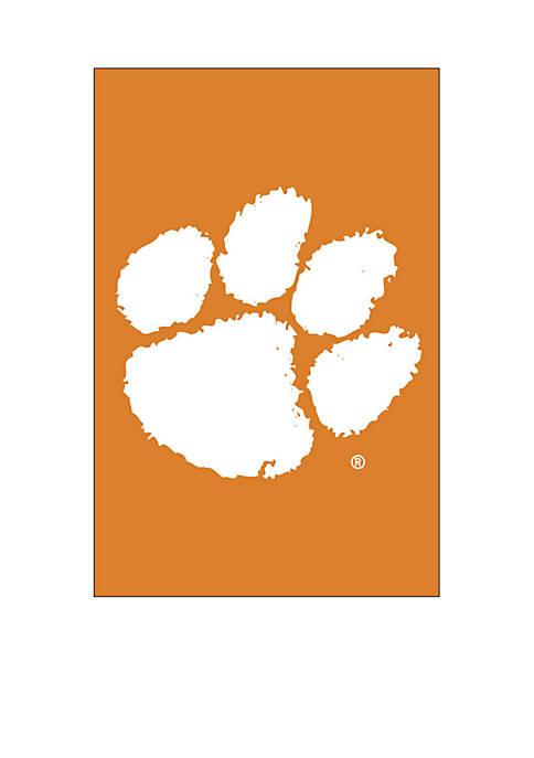 Clemson Tigers Applique Garden Flag