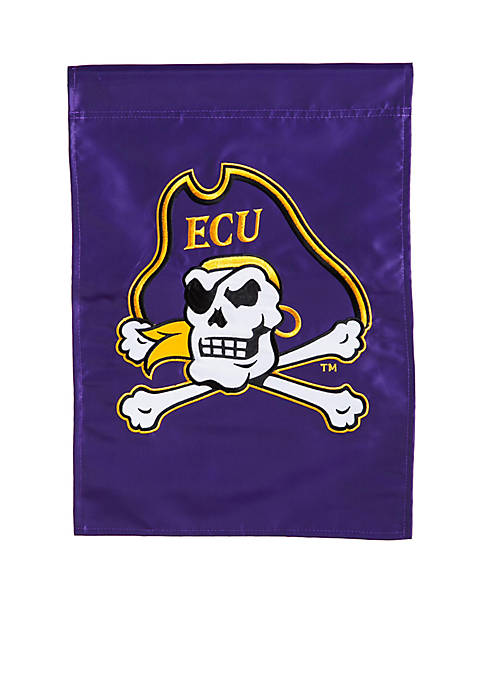 ECU Pirates Applique Garden Flag