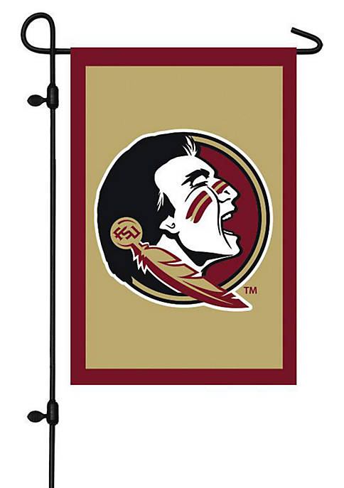 Evergreen Florida State Seminoles Applique Garden Flag