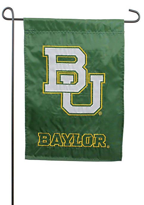 Baylor University Applique Garden Flag