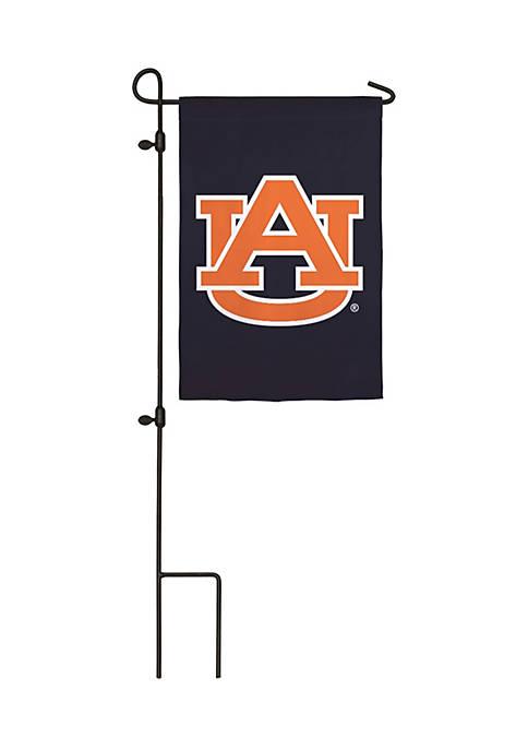 Evergreen Auburn Applique Garden Flag