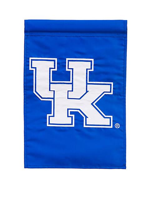 Kentucky Applique Garden Flag