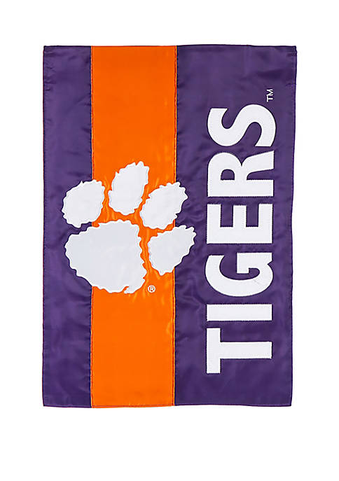 Evergreen NCAA Clemson Tigers Garden Flag