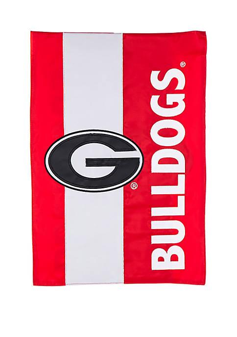 Evergreen NCAA Georgia Bulldogs Garden Flag Regular