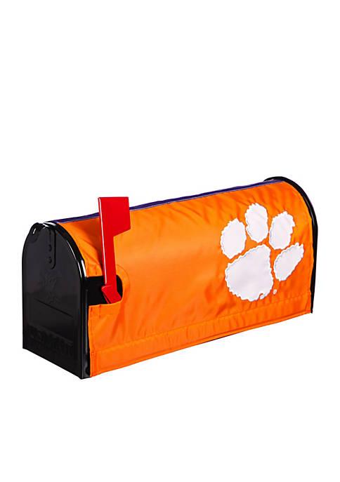 Evergreen Clemson Tigers Applique Mailbox Cover