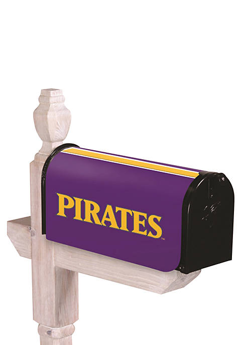 Evergreen East Carolina Pirates Applique Mailbox Cover