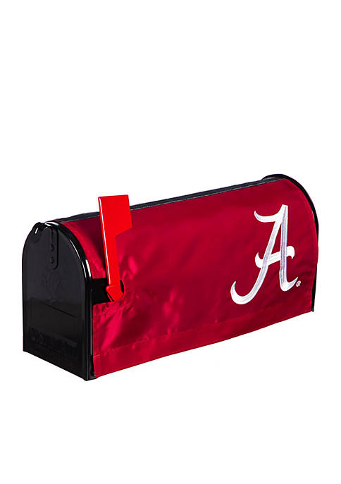 Alabama Crimson Tide Applique Mailbox Cover
