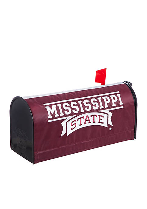 Mississippi State Applique Mailbox Cover