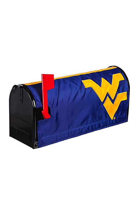 Evergreen West Virginia Mountaineers Applique Mailbox Cover