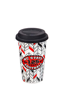 North Carolina State University Ceramic Travel Cup-10 oz.