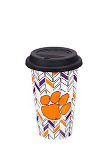 Clemson University Ceramic Travel Cup-10 oz.