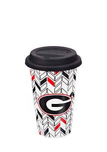 University of Georgia Ceramic Travel Cup 10 oz.