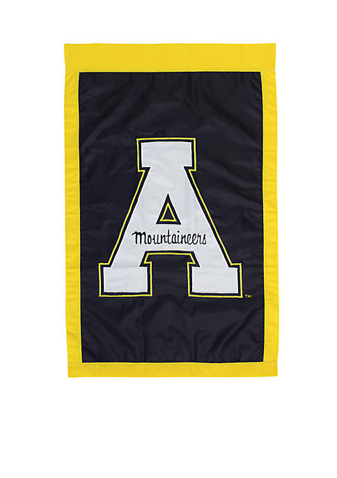 Evergreen Appalachian State Mountaineers House Flag