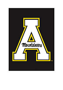 Evergreen Double Sided Appalachian State Mountaineers Flag