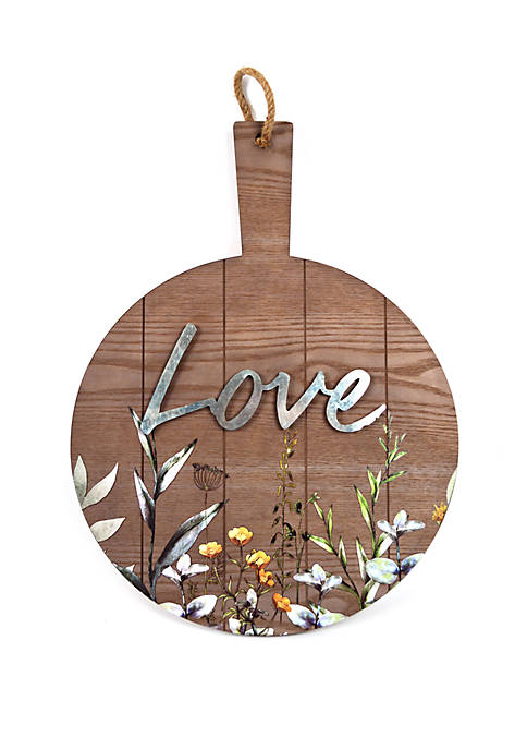 Love Hanging Plaque