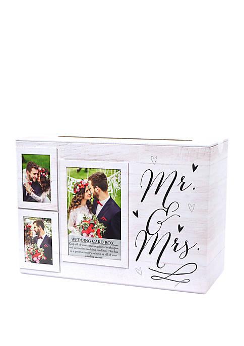 Mr. and Mrs. Wedding Card Box