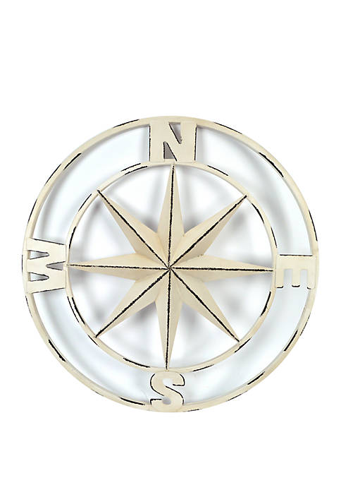 New View Compass Wall Decor